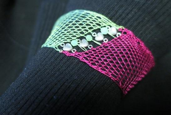 Bracelet bicolore fini