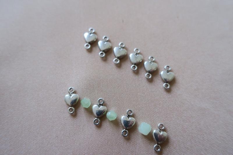 Perles centre bracelet